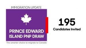 PEI PNP invites 195 in new immigration draw